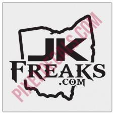 JKFreaks.com Ohio Decal