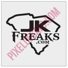 JKFreaks.com South Carolina Decal