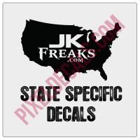 JKFreaks.com State Decals (31)