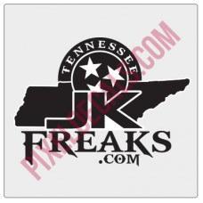 JKFreaks.com Tennessee Decal