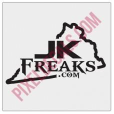 JKFreaks.com Virginia Decal