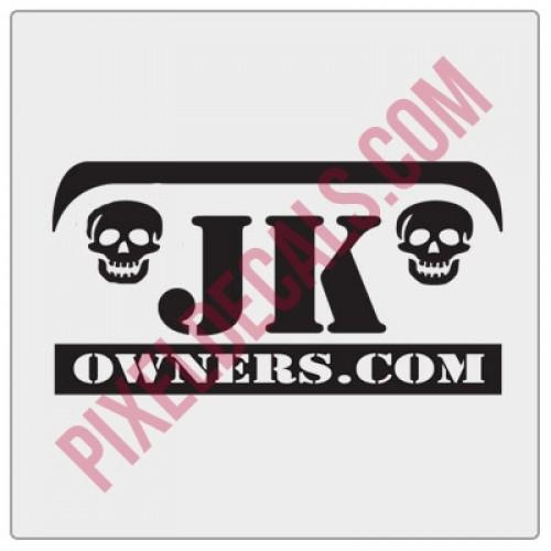 JKOwners.com Decal
