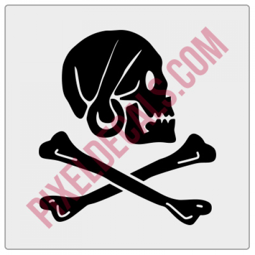Henry Every Pirate Decal