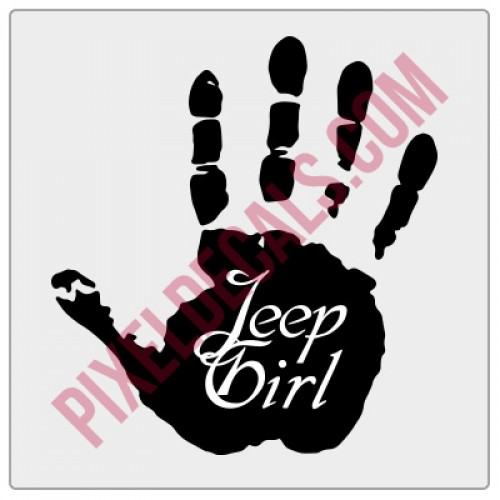 Jp Girl Wave Decal