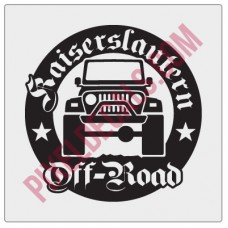 Kaiserslautern Off-Road Round Decal