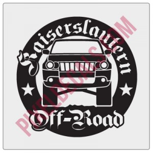 Kaiserslautern Off-Road Round Decal