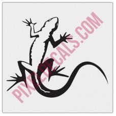 Lizard Decal