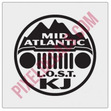 LOST Mid-Atlantic Decal