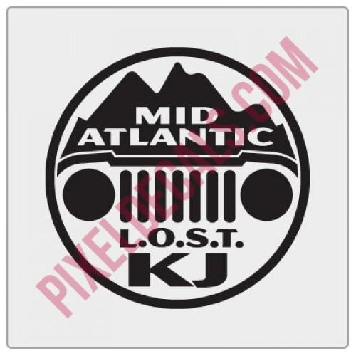 LOST Mid-Atlantic Decal