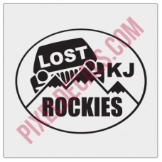 LOST Rockies Decal