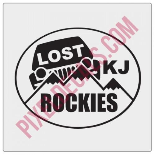 LOST Rockies Decal