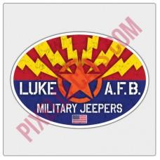 Luke Air Force Base Military Jprs Decal