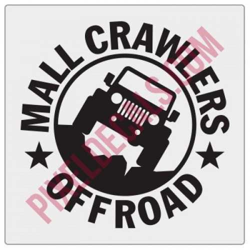 Mall Crawlers Offroad Fender Decal