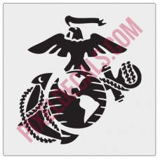 US Marines EGA Decal