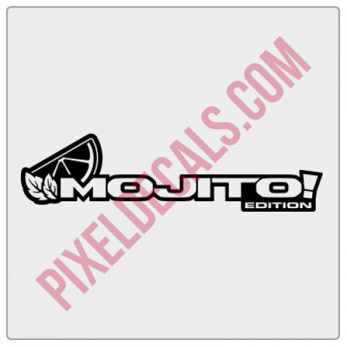 Mojito! Edition Decal (Pair)