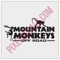 Mountain Monkeys Decals (3)