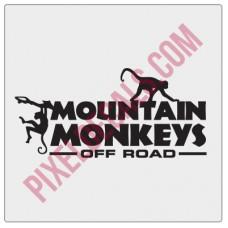Mountain Monkeys Decal