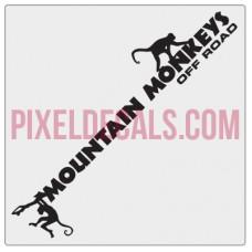 Mountain Monkeys Small Banner