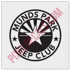 Munds Park Jp Club Round Decal