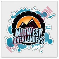 Midwest Overlanders Full-Color Decal