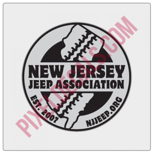 NJJP Logo Decal - 2 Color