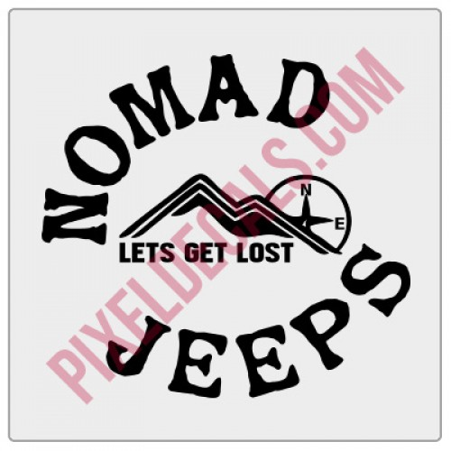 Nomad Jps Round Decal