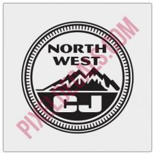 Northwest CJ Decal - Alternate