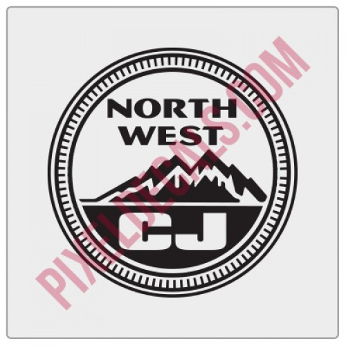 Northwest CJ Decal - Alternate