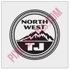 Northwest TJ Decal - Alternate