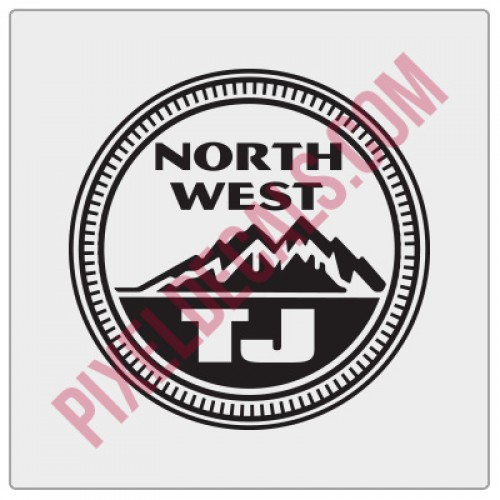 Northwest TJ Decal - Alternate