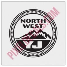 Northwest YJ Decal - Alternate
