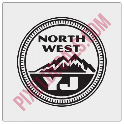 Northwest YJ Decal - Alternate