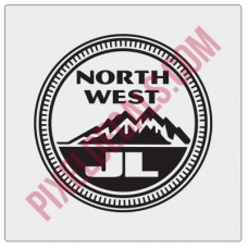 Northwest JL Decal - Alternate