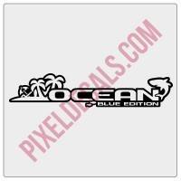 Ocean Blue Edition Decal (Pair)
