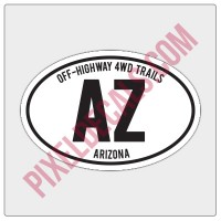 Arizona Trail Decals (20)
