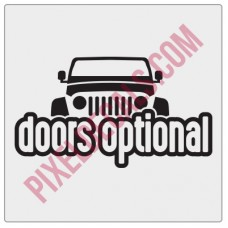 Peek-a-boo Doors Optional Decal