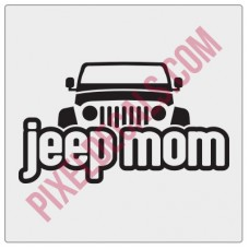 Peek-a-boo Jp Mom Decal