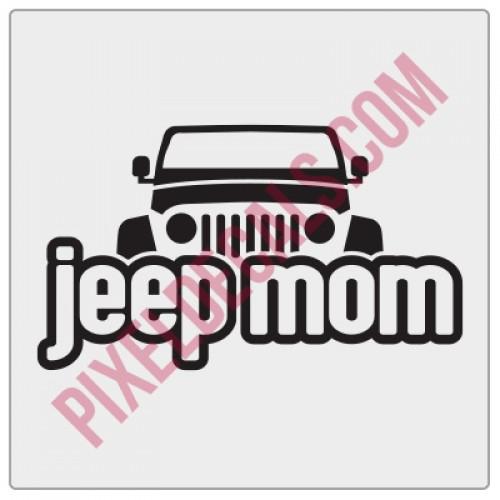 Peek-a-boo Jp Mom Decal
