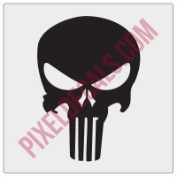 Punisher Logo Decal