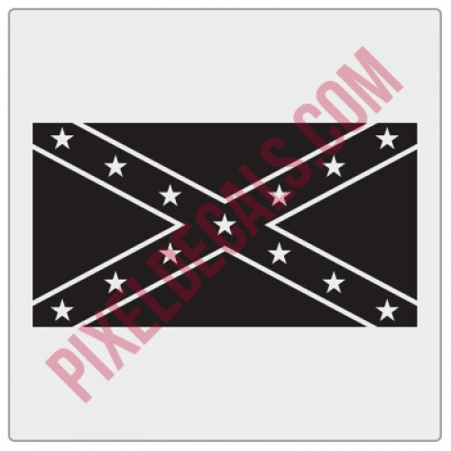 Rebel Flag Decal