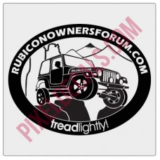 ROF Rubicon Decal