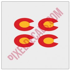 "Colorado ""C"" Replacement for Rubi Decals"