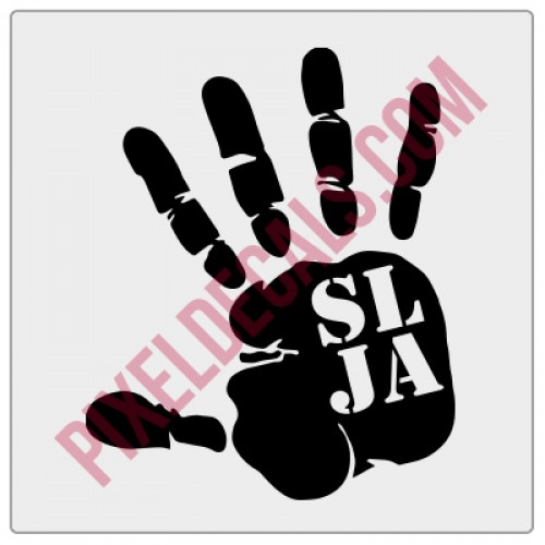 SLJA Wave Decal