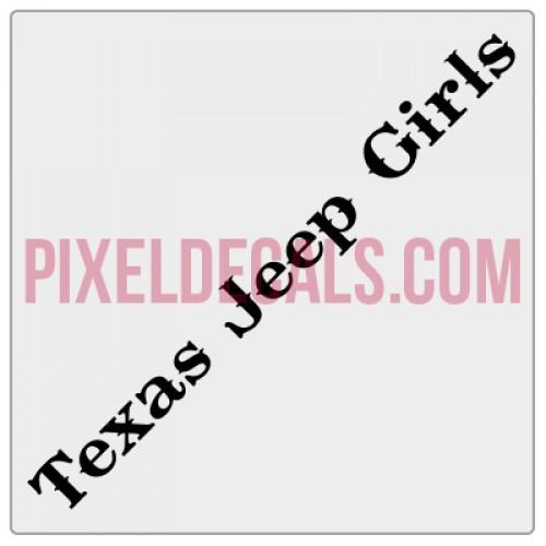 Texas Jp Girls Banner