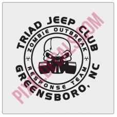 Triad Jp Club Zombie Decal