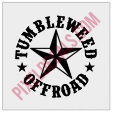 Tumbleweed Offroad Fender Decal