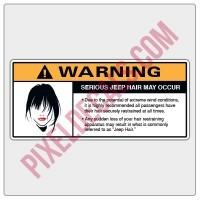 Jp Hair Visor Decal