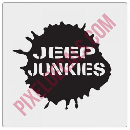 Waco Jp Junkies Decal - Stencil