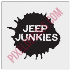 Waco Jp Junkies Decal - Bite Me
