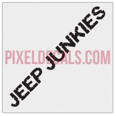 Waco Jp Junkies Banner Decal - Bite Me